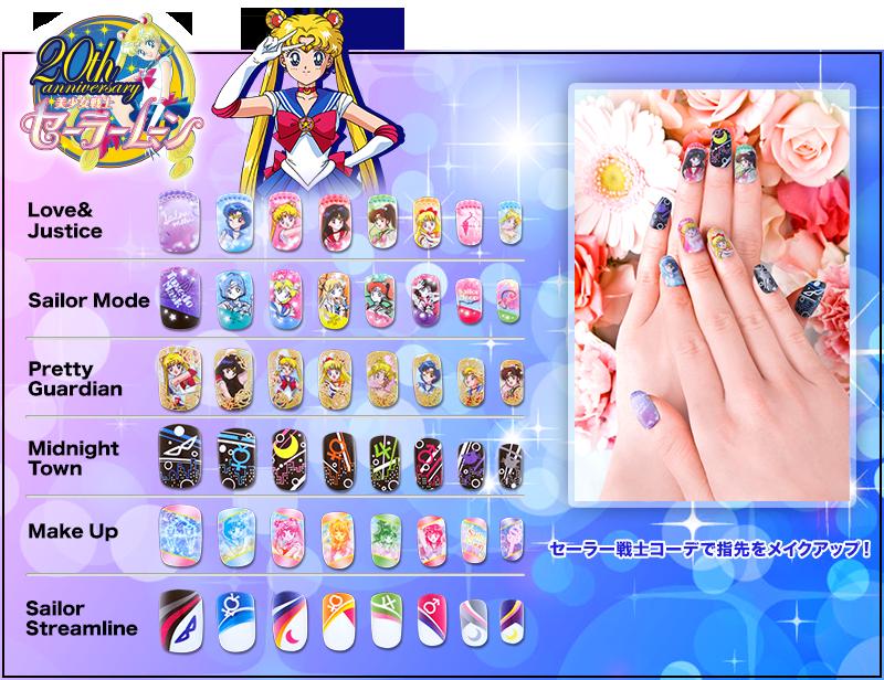 Sailor Moon CHARANAIL